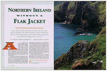 Northern Ireland Photo in Escape Magazine